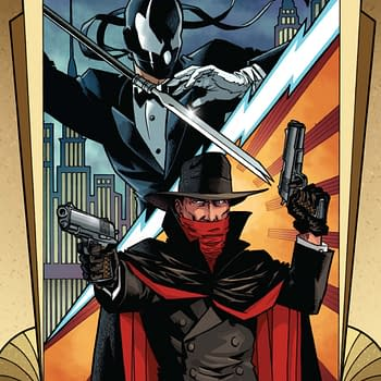 The Shadow Vs Grendel – Written And Drawn By Matt Wagner