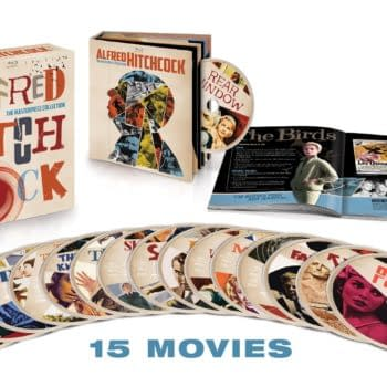 Now Is The Time To Buy The Alfred Hitchcock Masterpiece Collection Blu-ray Box-set