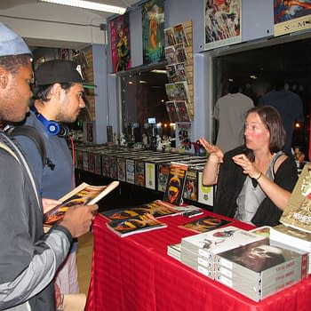 Alex de Campi Teases The Next Three Mini-Arcs of Grindhouse at New York Signing