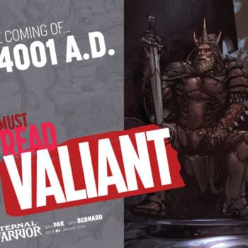 Greg Pak Takes The Eternal Warrior Back To 4001 A.D.