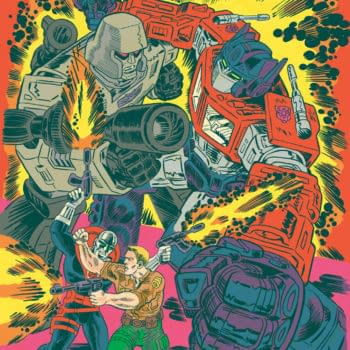 New Transformers/G.I. Joe On-Gong Series Coming From IDW