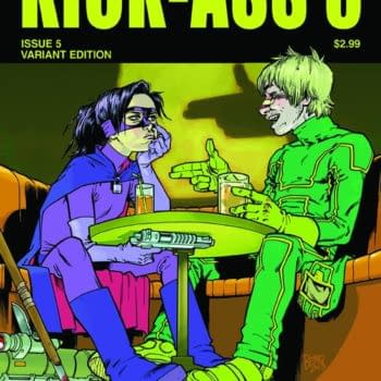Philip Bond's Cover For Kick Ass 3 – And How Everything's In Continuity (UPDATE)