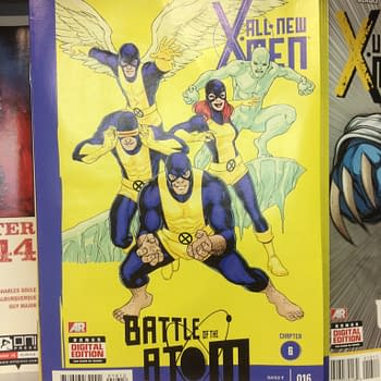 The Atom Of The Battle X-Men Crossover Continues…