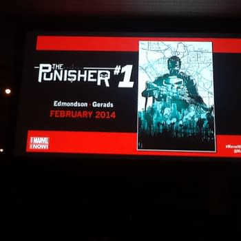 New Punisher #1 Launch From Nathan Edmondson And Mitch Gerads