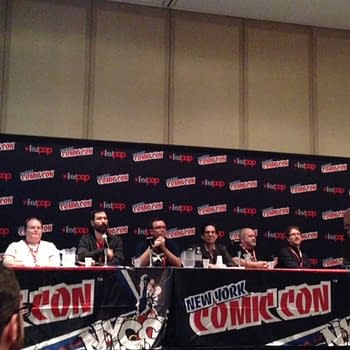Dynamite Keeps The Talent Happy &#8211 The10th Anniversary Panel at NYCC with Diggle Wagner Calero Van Lente Pak Gischler Barbiere Smith