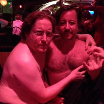 The Bromance of NYCC &#8211 Rich Johnston and Dean Haspiel Get Naked In A Bar