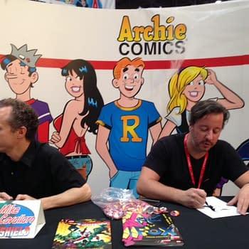 When Archies Red Circle Comics Rocked New York Comic Con &#8211 With The Fox The Shield Sonic and MegaMan