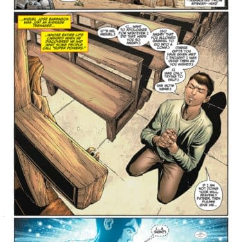 DC Comics' Gay Teenager Who Prays To God – And Gets Answers