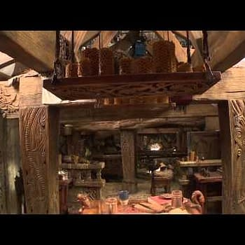 Behind The Scenes At Beorns House In New Featurette For The Hobbit: Desolation Of Smaug