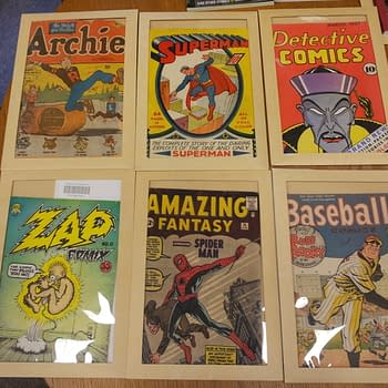 Holding Steve Ditko's Original Art To Amazing Fantasy #15 In My Hands – The Library of Congress' EPIC Comics Collection