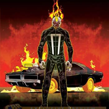 Ghost Driver – Ghost Rider #1 Covers Revealed And He Gets A Car