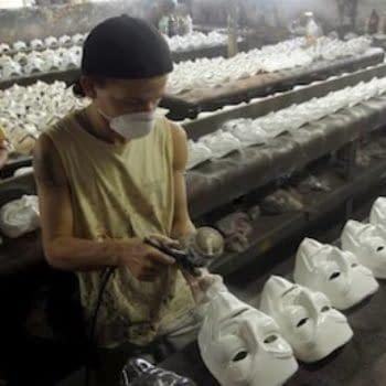 Anonymous Vs Martha Gill Over V For Vendetta