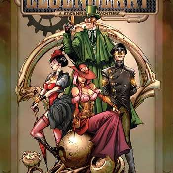 Free On Bleeding Cool – Legenderry: A Steampunk Adventure #1