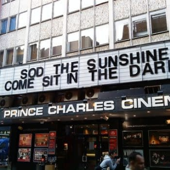 An Evening With Alan Moore At The Prince Charles Cinema, Leicester Square