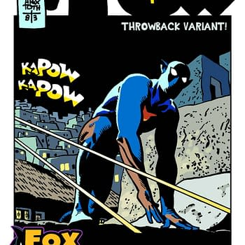 Cover Variance: The Fox From Toth To Chaykin