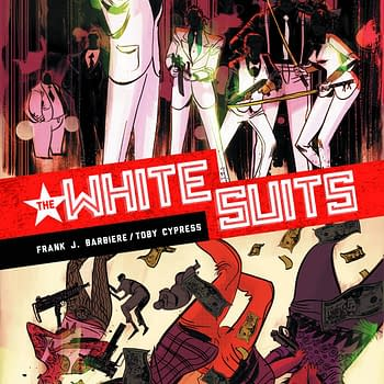 Frank J. Barbieres White Suits Gets Promoted To Its Own Comic