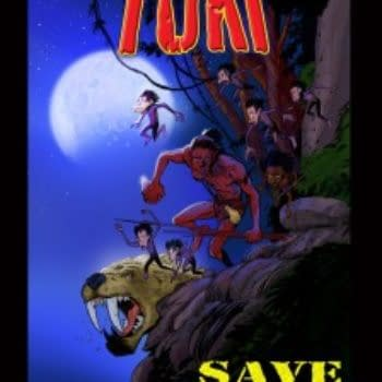 A Sneak Peek At Jeff Smith's Tuki Save the Humans