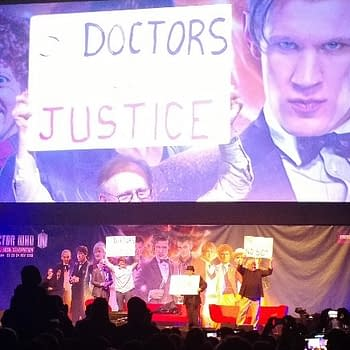 Being An Ice Warrior At The Doctor Who Celebration In London&#8230 And Setting David Tennants Hair On Fire