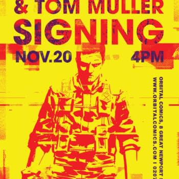 Things To Get Signed This Week In London If You Like Comics – Before The Thought Bubble Pops!