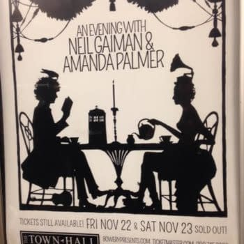 Neil Gaiman and Amanda Palmer Announce They're Moving To New York City