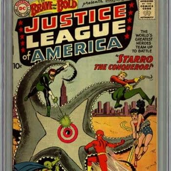 First Appearance Of The Justice League In The Brave And The Bold #28 Hits Record $120,000