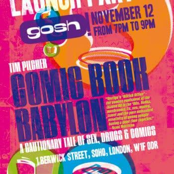 Things To Do In London If You Like Comics: Comic Book Babylon Launch