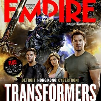 Leaner, Meaner Optimus Prime Revealed In New Transformers: Age Of Extinction Image