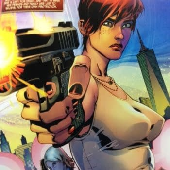 Live From The Comic Shop: Protectors Inc., Drumhellar, Alex + Ada, Painkiller Jane, The Occultist, Bee Vixens From Mars, Baltimore, Iron Man, Hinterkind