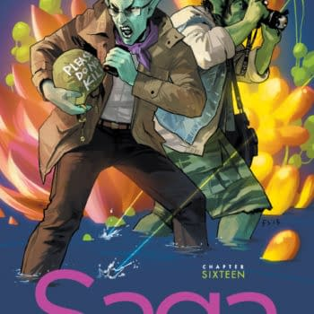 ComiXology All Over The World – Saga Vs The Walking Dead – And Hawkeye Is Big In Japan