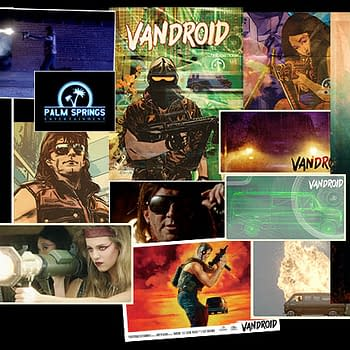 Vandroid By Tommy Lee Edwards Noah Smith And Dan McDaid Resurrected For Dark Horse In February