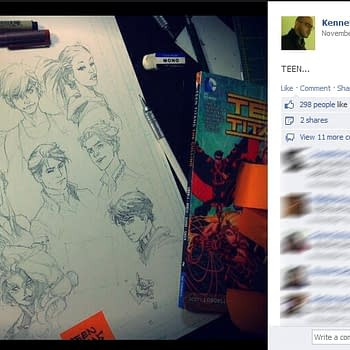 A Move To Teen Titans For Kenneth Rocafort