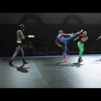 Spider-Man Vs. Batman And Robin – Mixed Martial Arts