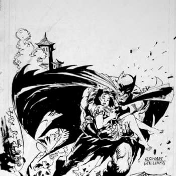 """Be On The Lookout For """"Missing"""" Denys Cowan Original Art Pages"""