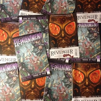 This Weeks Elephantmen #52 To Have Preview And Flip Cover For Jonathan Ross And Ian Churchills The Revenger