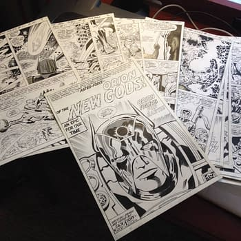 Jack Kirby New Gods Artists Edition &#8211 Can You Help