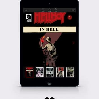 A Hellboy In Hell Motion Book Announced by Madefire and Dark Horse – And Talking Hellboy With Madefire's Liam Sharp