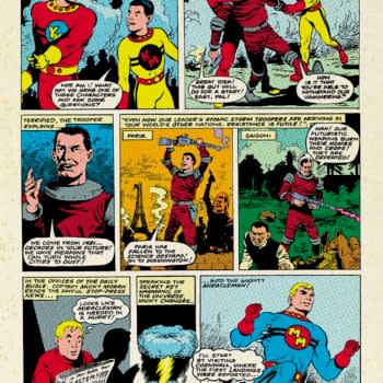 Your First Look At The Remastered Miracleman #1