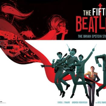 Vivek Tiwary's Odyssey Writing The Fifth Beatle Graphic Novel And Film – Look! It Moves! By Adi Tantimedh