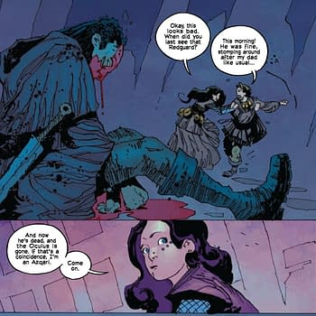 Antony Johnston Shares His Own Writers Notes for Umbral #1 With Bleeding Cool