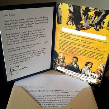 Top Shelf Donates Civil Rights Graphic Novel To Every Member Of Congress