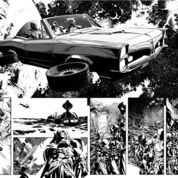 Who Killed The Watcher? Original Sin, Marvel's Big Summer Event By Jason Aaron And Mike Deodato