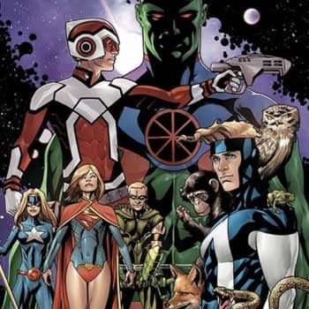 Justice League United #0 Makes The Set, For DC Comics In April, And Brings Along Adam Strange
