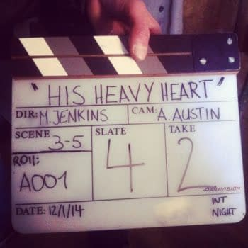 Casting And Images From The Set of Alan Moore and Mitch Jenkins' His Heavy Heart