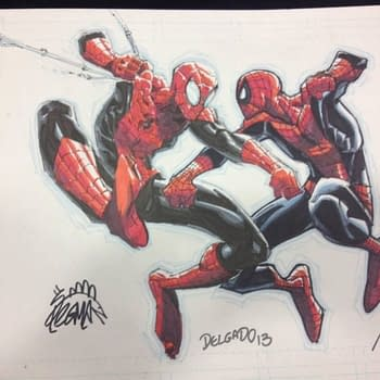 Stolen: Superior Vs Amazing Spider-Man Art By Ryan Stegman Humberto Ramos And Edgar Delgado
