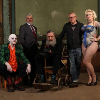 All The World Really Is A Stage In The Show – On Set With Alan Moore and Mitch Jenkins' His Heavy Heart