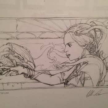 Game Of Thrones Storyboard Artist Will Simpson's Exhibit Reveals The Roots Of The Show