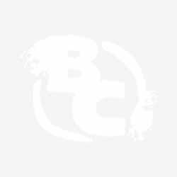 Roger Langridge's Playmats For Vampirella, Battlestar Galactica, Bionic Man, Evil Ernie And Red Sonja