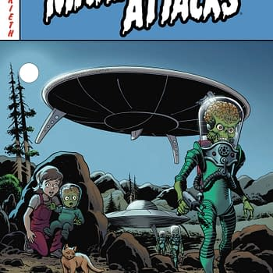 Sam Kieth Gets His Sci-Fi On With Mars Attacks: First Born