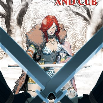 Red Sonja Goes Manga In Red Sonja And Cub By Jim Zub And Jonathan Lau