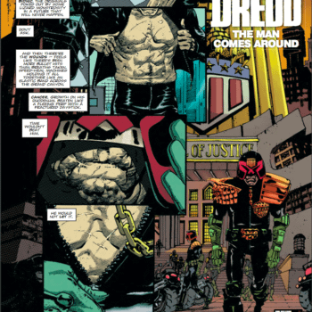 Preview Scalped's RM Guera Drawing Judge Dredd – With Soundtrack by Johnny Cash